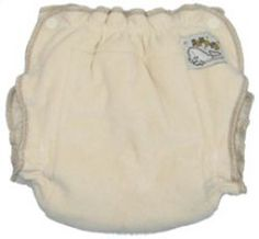 Organic Cotton Sandy's Fitted Cloth Diapers from Mother-ease #3littlemonkeys
