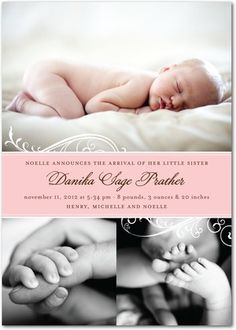 Cute baby announcement :)