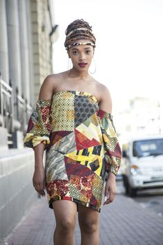 Thikho Mudau Collections  African beauty