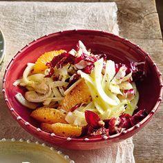 Radicchio-Fenchel-Salat mit Orangen