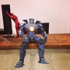 "Pacific Rim Jaeger Gipsy Danger 18"" Action Figure  #PacificRim #GipsyDanger #Jaeger #actionfigure #ironman"