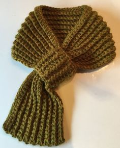 This scarf is simple, each man I did it for can't ...