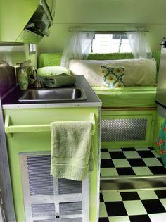 Vintage, Restored Scotty Serro Camper 1968