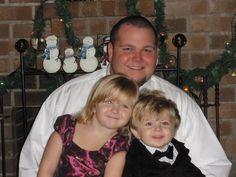 My nephew A.J. and his kids, Chloe & Little Man (A.J., Jr.)