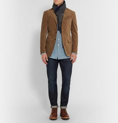 Blazers for Men Brown Blazer, Men Blazer, Business Casual Men, Men Casual, Corduroy Blazer, Wool Pants, Blazers For Men, Harvard, Cool Outfits