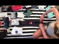 Como dobrar as roupinhas do bebê | Marilia Boaretto - YouTube