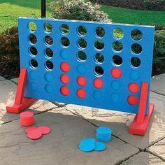 NEW LARGE CONNECT 4 IN A ROW GARDEN OUTDOOR GAME FAMILY FUN PUB BBQ PARTY   eBay £12.49 (free postage)