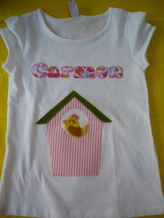 Camiseta Casita de Pájaros!! / Cosetes de Marta - Artesanio