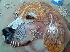 Dog Mosaic ... In Progress