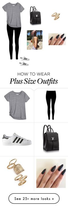"""Untitled #1651"" by tennirhyanon26 on Polyvore featuring adidas and Topshop"