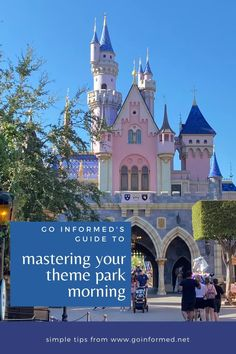 Getting there first can save hours of waiting in line all day long. Be the master of your Disney or Universal theme park morning with these step-by-step tips from GoInformed.net