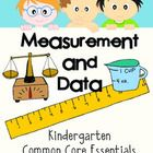 Confidently teach the Common Core! As students work to meet the three standards of Measurement and Data, they note measurable attributes such as length and weight, make comparisons, and sort and categorize information. Through exploration in these areas students gather, organize, analyze, and interpret information about the world around them.  This packet includes seven lessons or activities to help your students understand the standards of Measurement and Data.