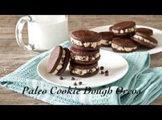 Paleo Cookie Dough Oreos - Living Healthy With Chocolate