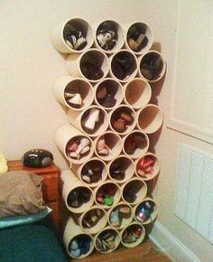 Полка для обуви своими руками — широкое поле возможностей!