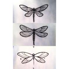 Libelulas  #libélula #libelula #libelulatattoo #tattoo #ink #work #tattoowork #tattooworkers #arttattoo #tattooartist #madrid #insect #leters #skull #neotraditional