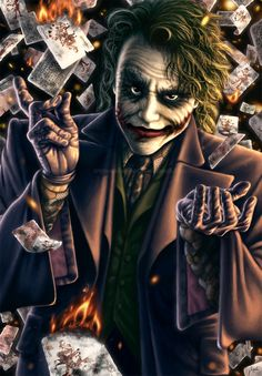 Joker: Watch The World Burn by AmberDust on @DeviantArt