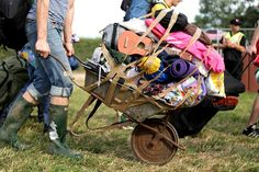 How to Survive Camping at a Festival   The Idle Man
