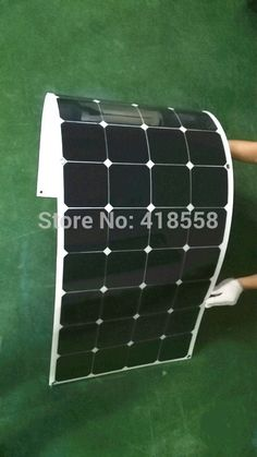 Find More Solar Cells, Solar Panel Information about Semi Flexible Solar Panel 120W Free Shipping Light Weight  21% charging efficiency 25 years warranty,High Quality panel shop,China light panel led lights Suppliers, Cheap light panel led from BPS Tech -POWEWR ON Your LIFE on Aliexpress.com