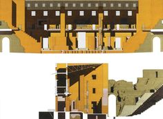 Roman Theatre, Sagunto by Giorgio Grassi, 1994.