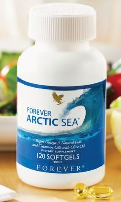 New and improved Forever Arctic Sea now contains a proprietary blend of DHA-rich Calamari Oil, ultra-pure Omega-3 Fish Oil and High Oleic Olive Oil.