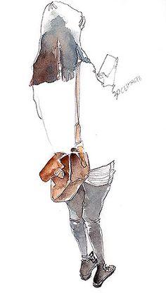 park sunga daily metro sketch   Flickr - Photo Sharing!