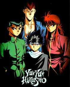 "Yu Yu Hakusho ~ It's hard to say definitively, but I think this was my ""gateway"" anime. This, and Rurouni Kenshin."