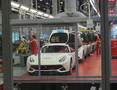 Ferrari on factory