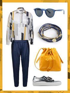 What to wear to work: dein perfektes Büro-Outfit. Wenn es schwül-warm ist und bis zum Feierabend gewittern könnte, ist dieses Outfit genau das Richtige!