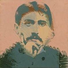 Andy Warhol – Ritratto di Marcel Proust – 1974 – coll. privata, Torino