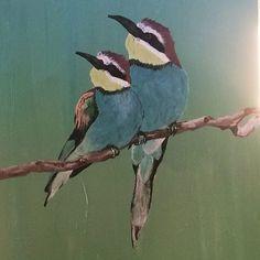 #birds #painting #acrylic