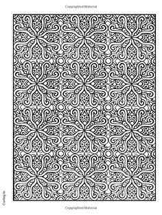 Creative Haven Square Mandalas Coloring Book Pattern Pages Mandala