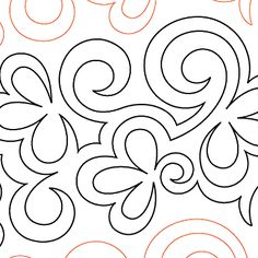 Toss Up - Digital - Quilts Complete - Longarm Continuous Line Quilting Patterns Quilting Stitch Patterns, Scrap Quilt Patterns, Machine Quilting Patterns, Stencil Patterns, Quilt Stitching, Quilting Stencils, Quilting Templates, Longarm Quilting, Free Motion Quilting