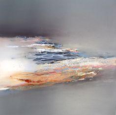 Float by Elaine Jones, oil on board.