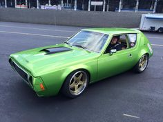 Pro-touring 1974 AMC Gremlin with a 360 ci AMC V8