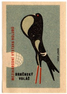 Pigeons on labels!  http://www.presentandcorrect.com/blog/birds-of-a-feather