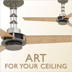 When the Golden Gate Bridge was first planned back in the 1930's, the new design was for a suspension bridge of a length never before attempted.  The architects brought art deco styling to the bridge design, using more simplified lines, for an unobstructed view.  The geometric elements that define the great bridge are also recognized in this fabulous ceiling fan from the San Francisco Collection at Hilight.com.