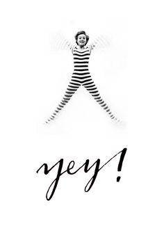 yey ! by HELLO calligraphy