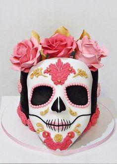 Halloween cake. Skull cake.  by elgi