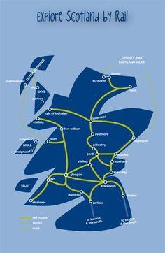 Scotland by Rail, Train journeys in Scotland - ScotRail