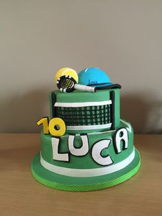 Tennis's cake