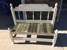 Twin head & footboard make into a bench!