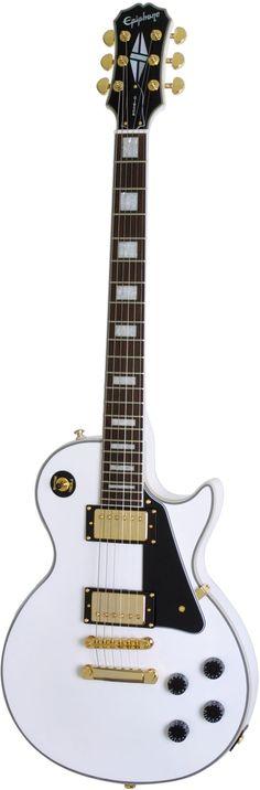 Epiphone Les Paul Custom PRO Alpine White