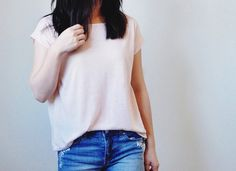 Tutorial: Sew a boxy crop top