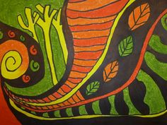 Koru art lesson International Craft, Maori Designs, Hawaiian Art, Maori Art, Autumn Theme, Famous Artists, Third Grade, Autumn Leaves, Art Lessons