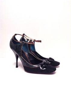 Louis Vuitton Charleston Python NEW Size 38.5
