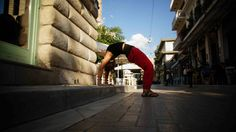 Urban Yoga in the Psirri neighbourhood of Athens prior to leaving for the summer season at Yoga On Crete!