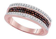 0.35 cttw 10k Rose Gold Cognac Brown Diamond Wedding Band Anniversary Ring (Sizes 3-11)by Pricegems Diamonds - See more at: http://blackdiamondgemstone.com/colored-diamonds/jewelry/035-cttw-10k-rose-gold-cognac-brown-diamond-wedding-band-anniversary-ring-sizes-311-com/#sthash.A6yGcN82.dpuf