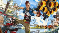 Wallpaper Sunset Overdrive (Exclusive Xbox One) #XboxOne #XboxS #XboxOneS #SunsetOverdrive #Parkour #shooter #zombies #zombis #survival