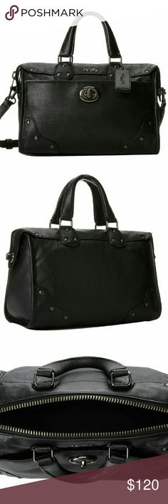 Coach satchel handbag So so nice, hate to get rid of this bag but try to help a family so you know! I love this bag, it matches everything you will not be sorry Coach Bags Satchels