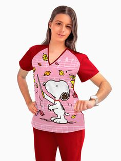 Cute Scrubs, Staff Uniforms, Medical Field, My Wish List, Professional Outfits, Pediatrics, Dentistry, Snoopy, Phlebotomy